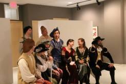 Final Scene of Shrew at MacRostie Art Center