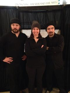 The 'Silhouette, Gentille Silhouette' Puppeteers