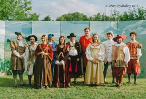 Cast of Much Ado ©Wes Bailey