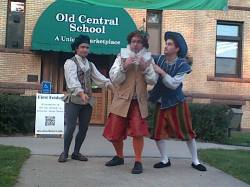 Lucentio, Pendant, Tranio at Old Central School
