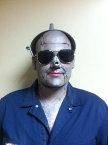 Tinman makeup complete