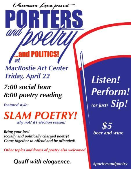 Porters & Poetry & Politics